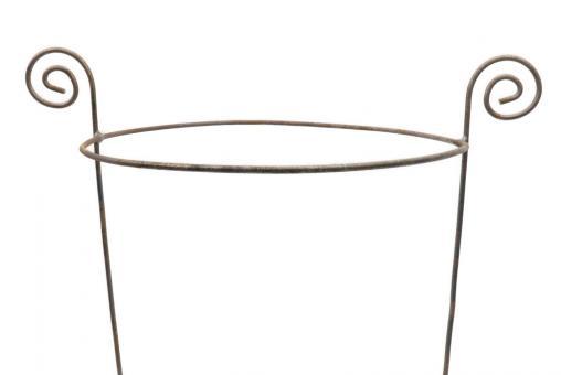 Staudi-Halter rund 40/50 2 Stück H:50 D:40cm 2xBeine 6 mm einteilig Ringhöhe 40cm Made in EU