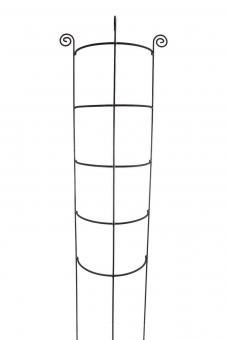Staudenhalter HUGO halbrund stabil Höhe 200 cm, Breite 45 cm Vollmaterial Rankhilfe Pflanzstütze Rankgitter